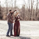 Candid Style Engagement Photos